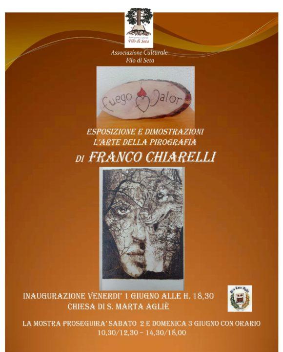 Mostra di Franco Chiarelli Locandina-001